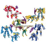 "Hasbro Year 2013 Transformers Prime ""Beast Hunters - Predacon Rising"" Series Exclusive 5 Pack Legion Class Combiners Robot Action Figure Set - Predacon ABOMINUS with Twinstrike, Hun-Gurrr, Windrazor, Predacon Rippersnapper and Blight"