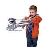 "Spin Master Year 2013 Dreamworks Movie Series ""DRAGONS - Defenders of Berk"" Weapon Set - TRANSFORMING SHIELD that Converts to Crossbow Plus 1 Missile and Map"