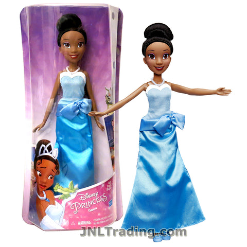 Disney Year 2015 Princess Royal Shimmer Series 12 Inch Doll Set - TIANA in Blue Dress