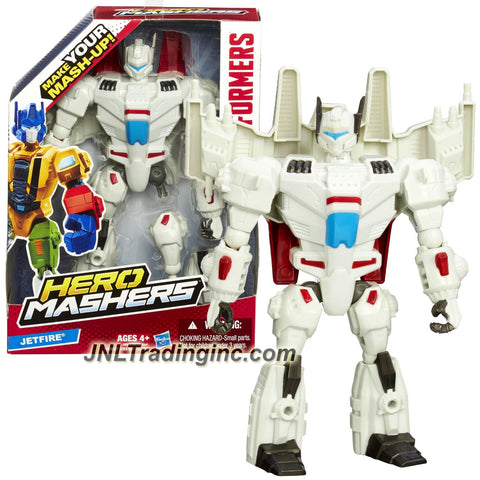 Hasbro Year 2014 Transformers Hero Mashers Series 6 Inch Tall Action Figure - Autobot JETFIRE with Detachable Hands and Legs