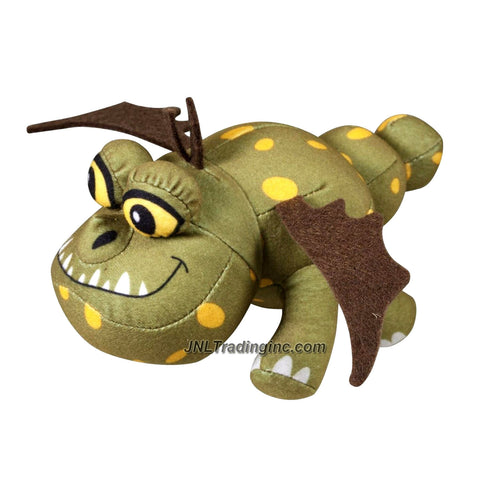 "Spin Master Year 2013 Dreamworks Movie Series ""DRAGONS - Defenders of Berk"" Bop Me! 6 Inch Long Dragon Plush Figure with Sound - Gronckle MEATLUG"