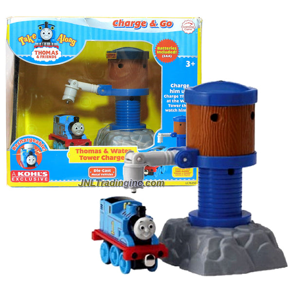 Learning Curve Thomas and Friends Take Along Series Exclusive Die Cast  Metal Train - Rechargeable Thomas and Water Tower Charger