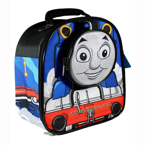 GDC HIT Thomas and Friends Animated Series Double Compartment Soft Insulated Lunch Bag with Image of Thomas the Tank Engine