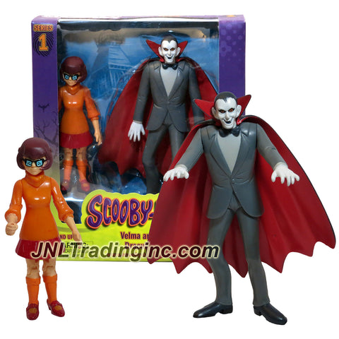 Characters Scooby-Doo! Series 2 Pack 5 Inch Tall Action Figure Set - VELMA and DRACULA