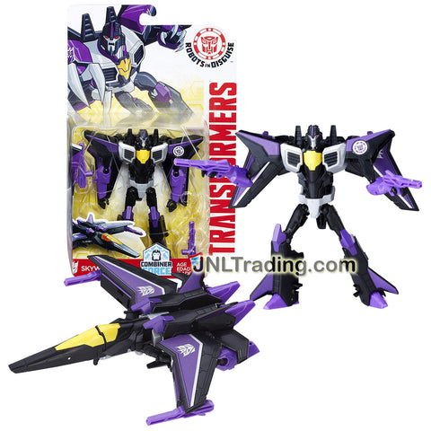 Transformer Year 2016 Robots In Disguise Combiner Force Series Warrior Class 5-1/2 Inch Tall Figure - SKYWARP with Blasters (Vehicle Mode: Jet)
