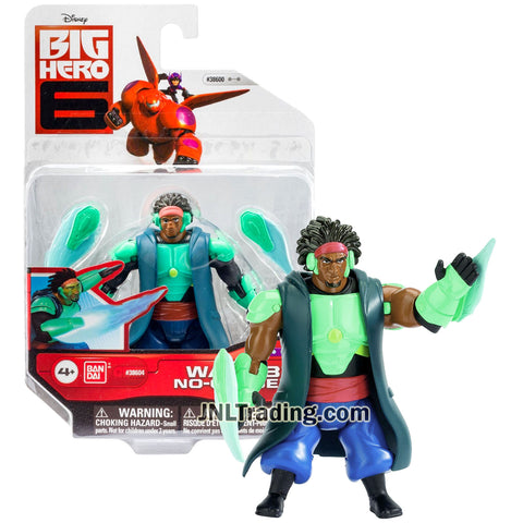 Year 2014 Disney Big Hero 6 Movie Series 4 Inch Tall Action Figure : WASABI NO-GINGER with Plasma Blades