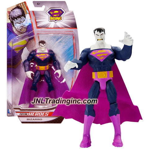 Mattel Year 2014 DC Comics Total Heroes Series 6 Inch Tall Action Figure - BIZARRO