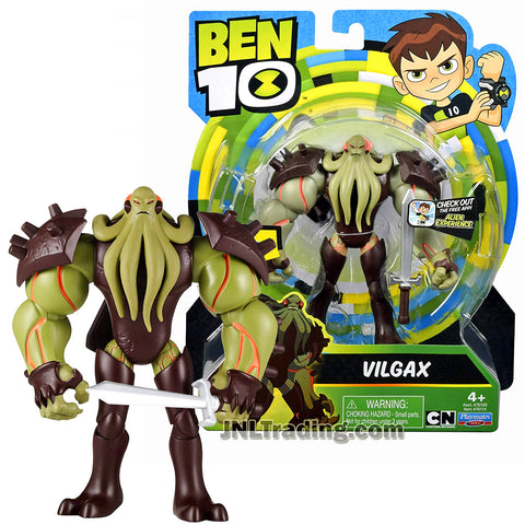 Cartoon Network Year 2018 Ben Tennyson 10 Series 5 Inch Tall Figure - VILGAX with Battle Sword