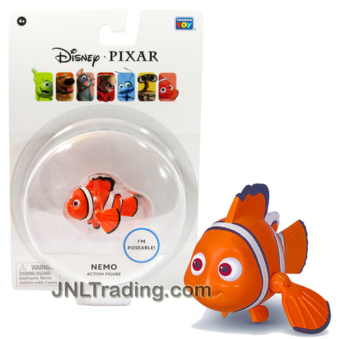 Thinkway Toys Disney Pixar Finding Nemo Movie Series 2-1/2 Inch Long Poseable Action Figure - Clownfish NEMO