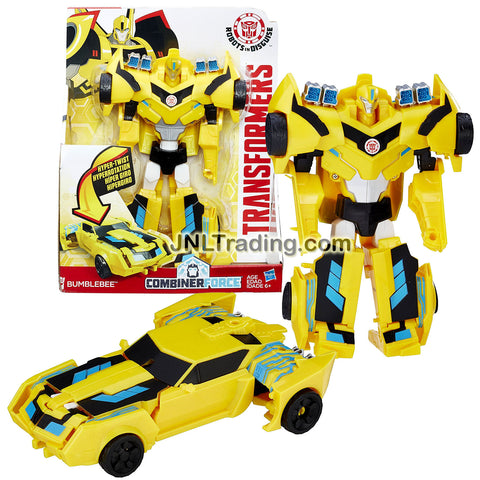 Transformer Year 2016 Robots In Disguise Combiner Force Series 3 Steps Change 8 Inch Tall Figure -BUMBLEBEE (Vehicle Mode: Sports Car)