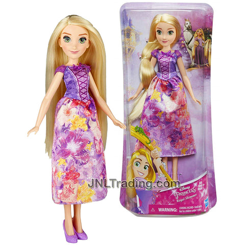 Year 2017 Disney Princess Royal Shimmer Series 12 Inch Doll - RAPUNZEL B5284 from Tangled