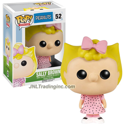 Funko Year 2015 Pop! Schulz Peanuts Series 3-1/2 Inch Tall Vinyl Bobble Head Figure #52 - SALLY BROWN