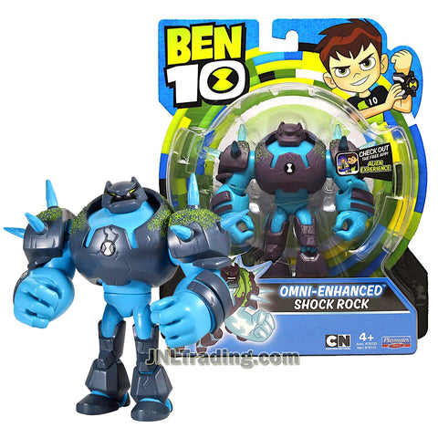 Cartoon Network Year 2018 Ben 10 Series 5 Inch Tall Figure : Omni-Enhanced SHOCK ROCK