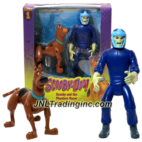Characters Scooby-Doo! Series 2 Pack 5 Inch Tall Action Figure Set - SCOOBY and the PHANTOM RACER