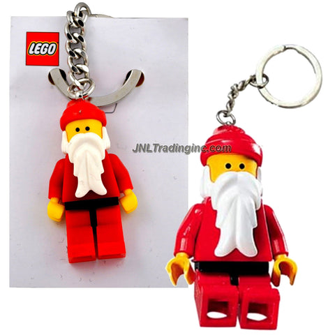 Lego Year 2008 Seasonal Series Key Chain Set #850150 - Classic Christmas SANTA CLAUS