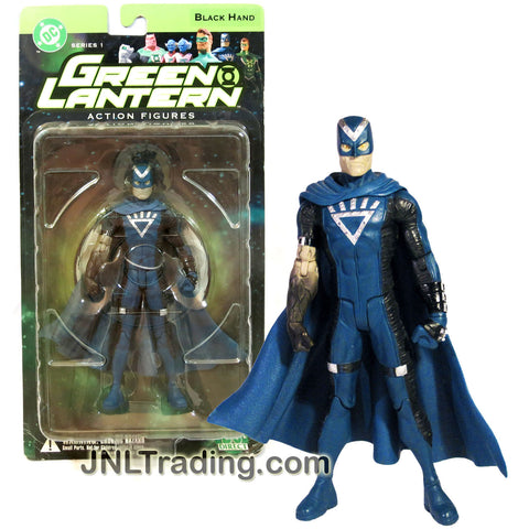 DC Direct Year 2005 DC Comics Series 1 Green Lantern 6-1/2 Inch Tall Action Figure - BLACK HAND with Display Base