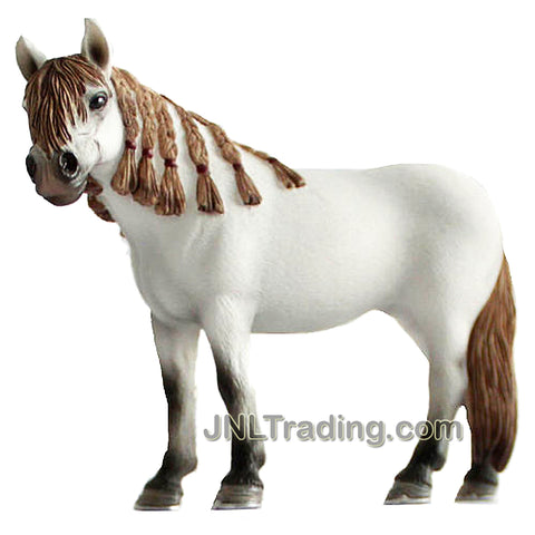 Schleich Equine Series 5 Inch Long Horse Figure - ANDALUSIAN MARE with Braided Mane