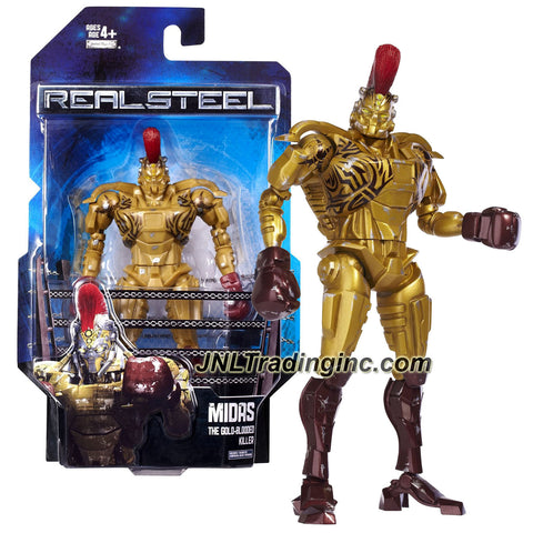 Jakks Pacific Year 2011 Real Steel Movie Series 8 Inch Tall Action Figure - The Gold-Blooded Killer MIDAS with Signature Move 1/2 Jab