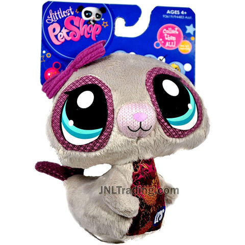 Year 2009 Littlest Pet Shop LPS 5 Inch Tall Plush Figure - Grey Seal