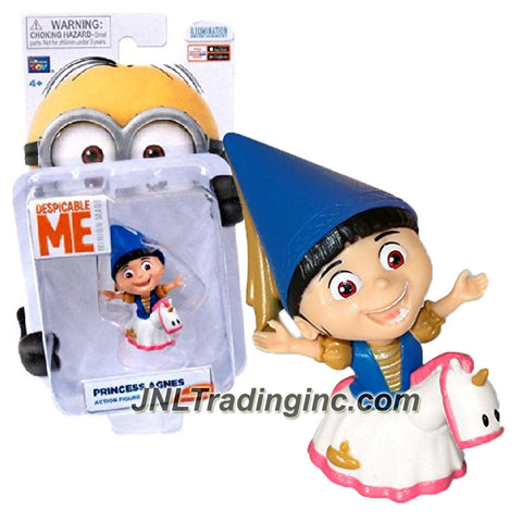 "Thinkway ""Despicable Me - Minion Made"" Movie Series 2-1/2 Inch Tall Poseable Action Figure - PRINCESS AGNES"