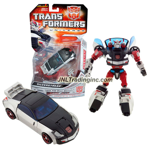 Transformer Year 2008 Universe Classic Series Deluxe Class 6 Inch Tall Figure - Autobot SILVERSTREAK with Volt Beam Blaster (Vehicle Mode: Sports Car)