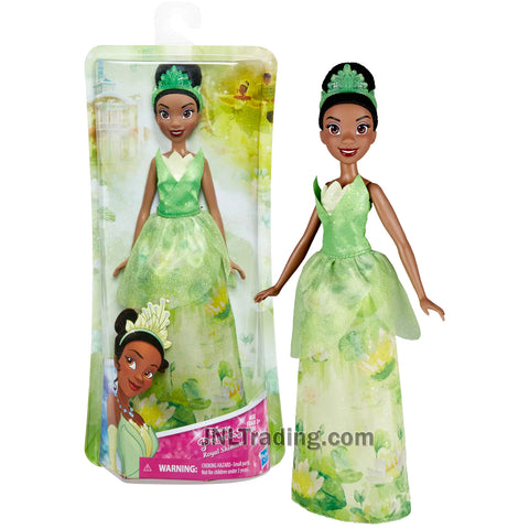 Year 2016 Disney Princess Royal Shimmer Series 12 Inch Doll Set - TIANA from The Princess and the Frog with Tiara