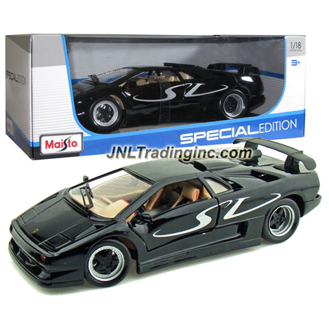 Maisto Special Edition Series 1 18 Scale Die Cast Car Black Sports