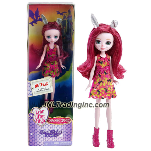 Mattel Year 2015 Ever After High Dragon Games Series 8 Inch Doll - Forest Pixies HARELOW (DHG00)