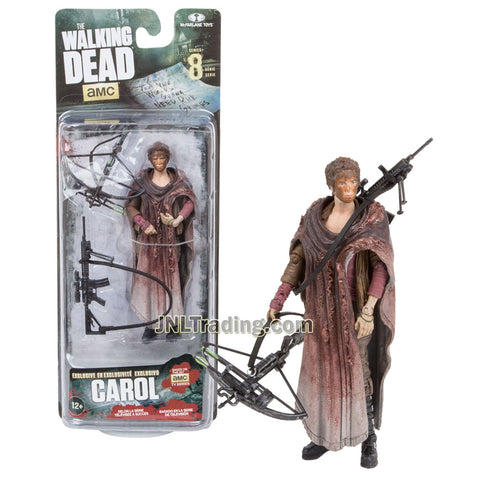 Year 2016 AMC TV Series Walking Dead 5 Inch Tall Figure - Exclusive CAROL with Crossbow and Rifle