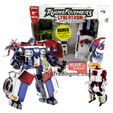Transformer Year 2005  Exclusive Cybertron Series Deluxe Class 6 Inch Tall Figure - RED ALERT with Interchangeable Arm Tools and Cyber Planet Key Plus Mini-Con DIRT BOSS with Tin Box