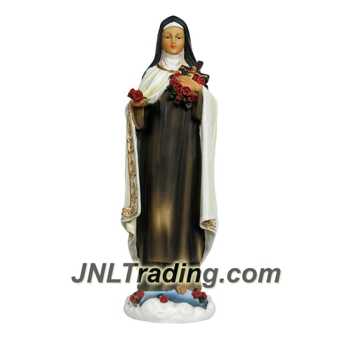 Giovanni Giftware Collection Religious Home Decor Catholic Saints Series 12 Inch Tall Figurine - ST. THERESE of LISIEUX The Little Flower