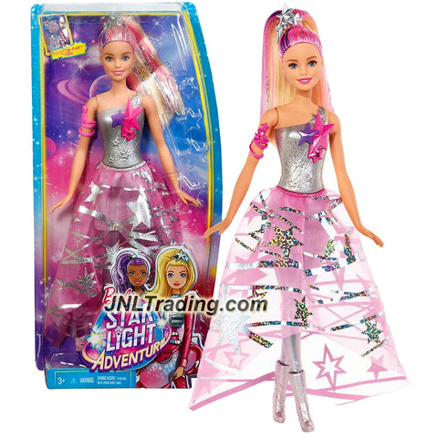 Mattel Year 2015 Barbie Star Light Adventure Series 12 inch Doll - COSMIC PRINCESS BARBIE DLT25 with Tiara