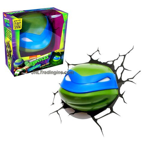 3DLightFX Teenage Mutant Ninja Turtles TMNT Series 3D Deco Night Light - LEONARDO HEAD