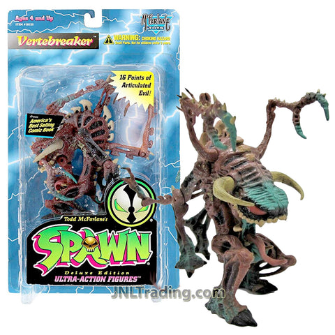 Year 1995 McFarlane Toys Spawn Series 7 Inch Tall Figure - VERTEBREAKER with 16 Points of Articulated Evil