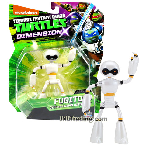 Year 2015 Teenage Mutant Ninja Turtles TMNT Dimension X Series 5 Inch Tall Action Figure - Cyborg Human Turtle Ally FUGITOID