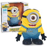 Illumination Entertainment Minions Movie Exclusive 9 Inch Tall Electronic Figure - TUMBLIN' STUART with Movie Voice and Talk/Respond to Your Voice