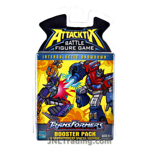 Attacktix Year 2006 Battle Figure Game Transformers Series Booster Pack with 2 Random Transformers Figures
