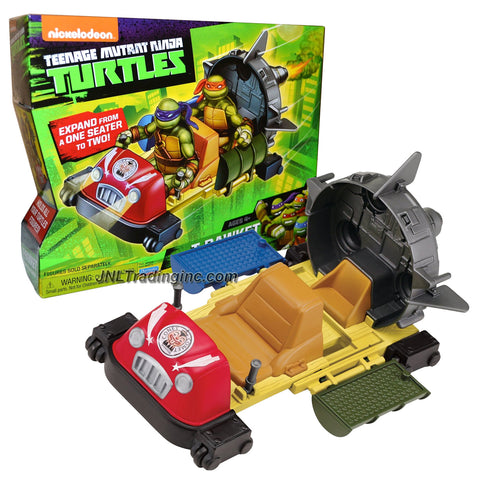 Playmates Year 2014 Nickelodeon Teenage Mutant Ninja Turtles Action Figure Vehicle Set - Rapid Rocket Roller Coaster T-RAWKET with Expandable Seater (Figure is not Included)