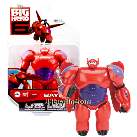 Year 2014 Disney Big Hero 6 Movie Series 4-1/2 Inch Tall Action Figure - Red BAYMAX with Removable Wings