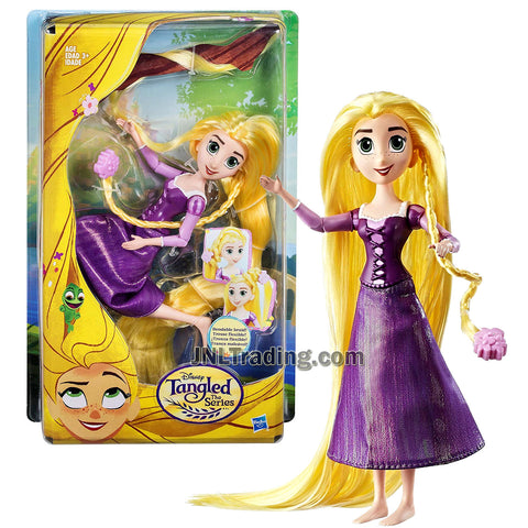 Year 2016 Disney Tangled Series 8 Inch Doll - RAPUNZEL with Bendable Braid
