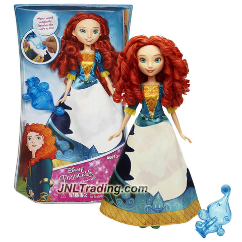 Hasbro Year 2015 Disney Princess 12 Inch Doll - MERIDA'S MAGICAL STORY SKIRT with Merida Doll and Water Wand