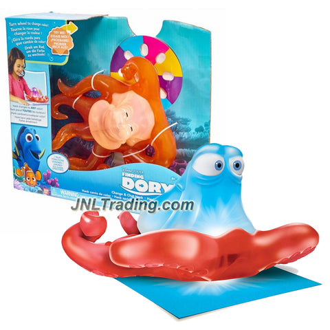Bandai Year 2016 Disney Pixar Finding Dory Series 8 Inch Long Interactive Electronic Figure - CHANGE & CHAT HANK with Color Changing Feature & Sound