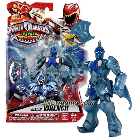 Bandai Year 2015 Saban's Power Rangers Dino Super Charge Series 5-1/2 Inch Tall Action Figure - Villain WRENCH with Battle Axe