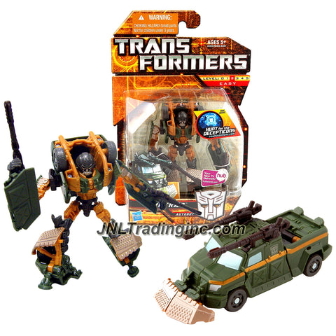 "Hasbro Year 2010 Transformers ""Hunt for the Decepticons"" Series Scout Class 4 Inch Tall Robot Action Figure - Autobot FIRETRAP with 2 Poseable Cannons (Vehicle Mode: Armored Truck)"