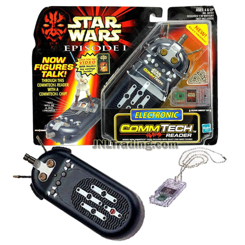 Star Wars Year 1998 Episode 1 The Phantom Menace Series Electronic COMMTECH READER with Comm Tech Chip