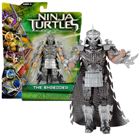 Playmates Year 2014 Teenage Mutant Ninja Turtles TMNT Movie Series 5-1/2 Inch Tall Action Figure - THE SHREDDER with Removable Cape