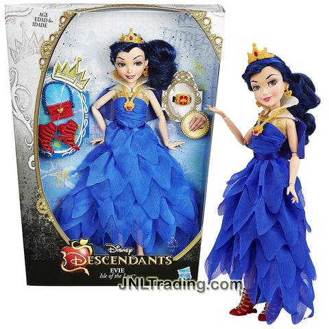 Hasbro Year 2014 Disney Descendants Coronation Series 12 Inch Doll - Isle of the Lost EVIE with Earrings, Necklace, Tiara and Ring