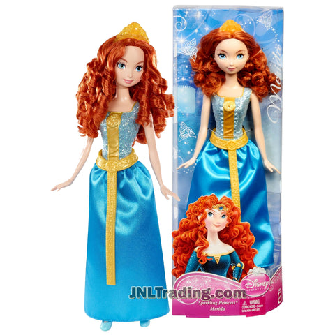 Disney Princess Year 2012 Sparkling Princess Series 12 Inch Doll Set - Princess MERIDA with Tiara