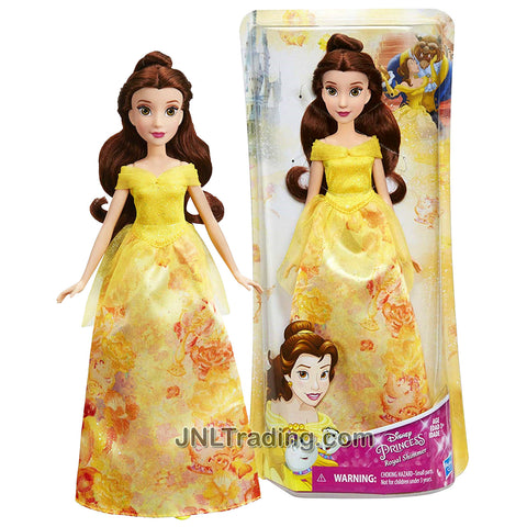 Year 2017 Disney Princess Royal Shimmer Series 12 Inch Doll - BELLE B6446 from Beauty and the Beast