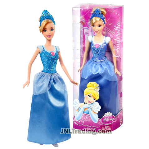 Disney Princess Year 2012 Sparkling Princess Series 12 Inch Doll Set - CINDERELLA with Tiara